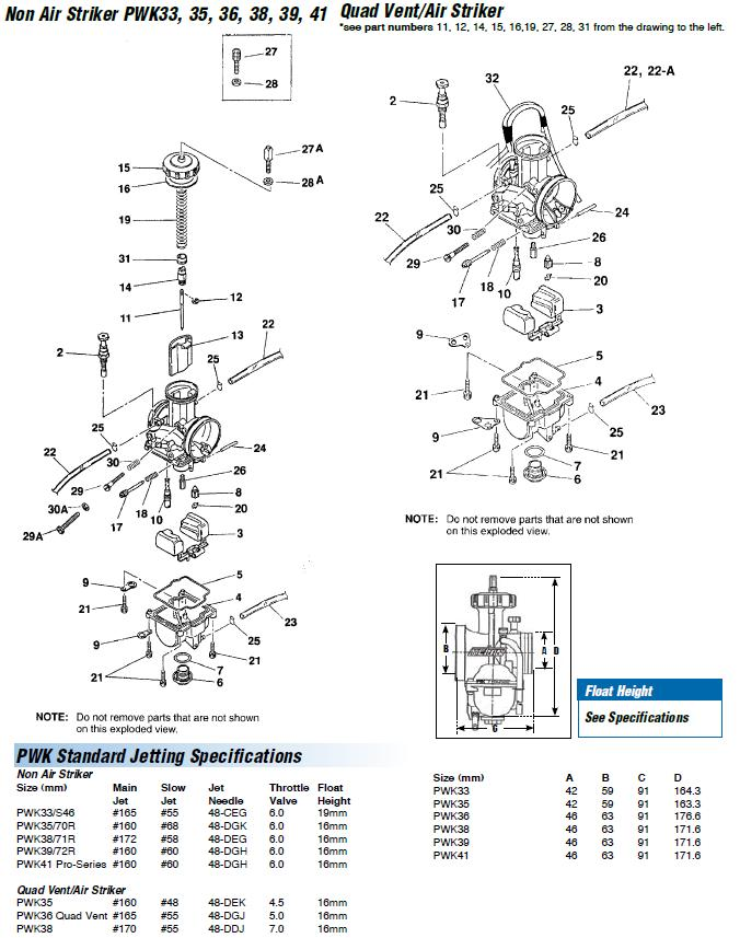 Carb_keihin_PWK33 41_carb_exploded_view_parts on Spark Plug Wire Diagram