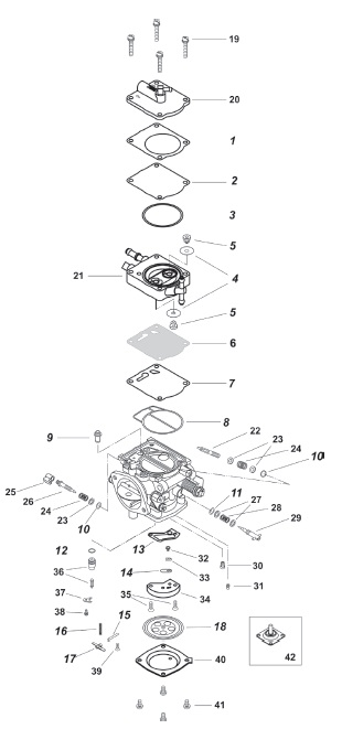 mikuni bn46i carb exploded view