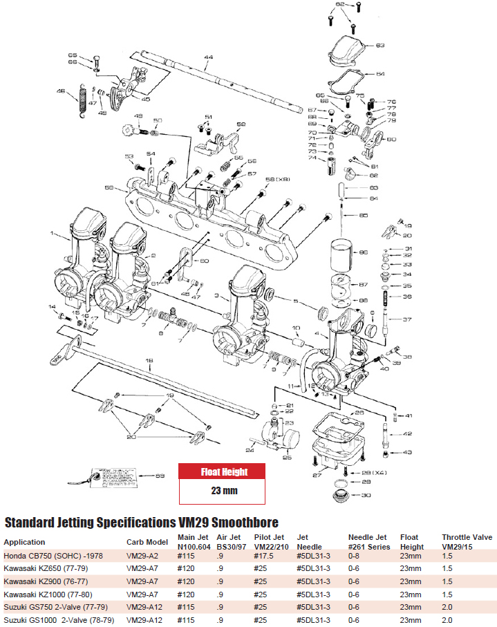 Pics Photos Mikuni Carb Diagram | Online Wiring Diagram